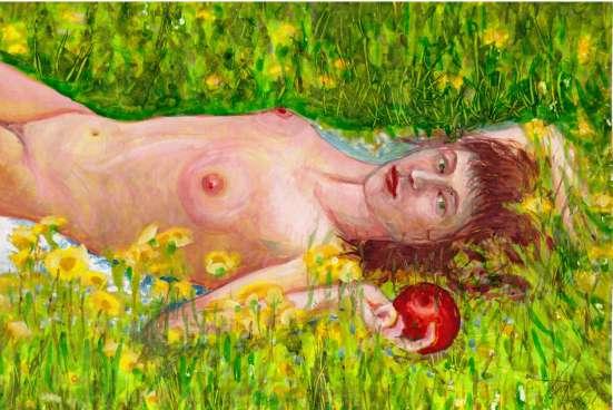 Картины, портрет, пейзаж, натюрморт (2) в Москве Фото 2