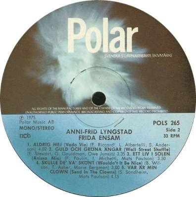 Anni-Frid Lingstad - Frida Ensam (ABBA)