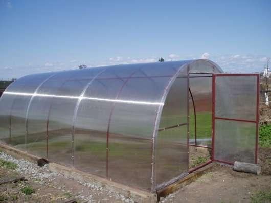 Теплица арочного типа из поликарбоната в г. Ясный Фото 1