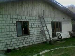 Новый дом из пеноблоков