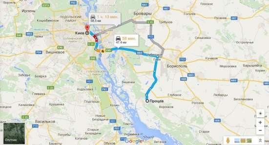 Участок под застройку в живописном Процеве 25 км от Киева !