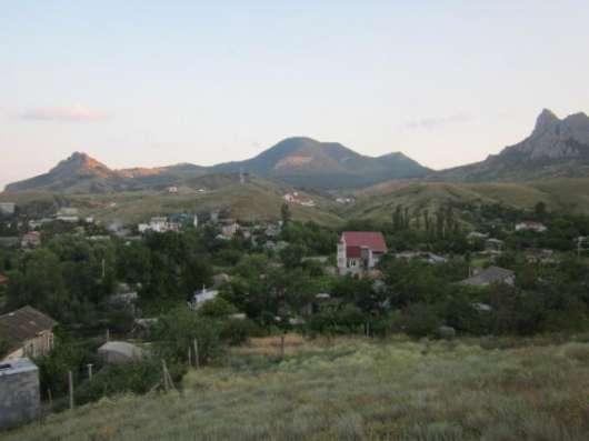 Земельный участок с видом на заповедник и Черное море в г. Феодосия Фото 1