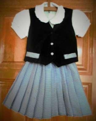Костюм: жилетка+ юбка