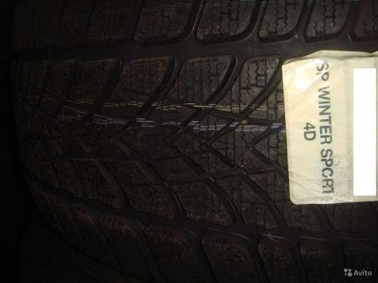Новые Dunlop 225 50 17 Winter Sport 4D ранфлэт в Москве Фото 2
