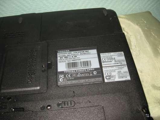 Нижняя панель для мат. платы Toshiba A300-27W в Москве Фото 1