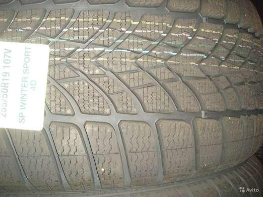 Новые Dunlop 225/50 R17 Winter Sport 4D ROF MOE в Москве Фото 2