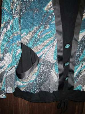Блуза (размер-58) вискоза + пэ