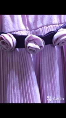 Платье цвета пыльная роза на рост 104 см в Москве Фото 1