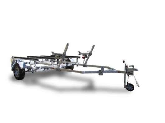 Прицеп ЛАВ 81014 для лодки/катера 5-6м самосвал на роликах