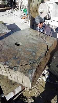 Каменные жернова MKG-80 Мельница каменными жерновами д.80см