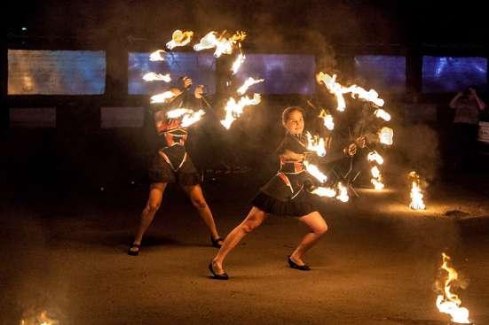 Огненное шоу Барнаул творческая группа АльтШоу фаер шоу Фото 2