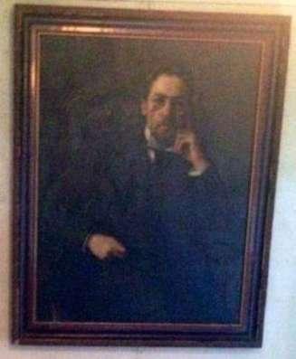 Портрет А. П. Чехова (копия картины О. Браза)