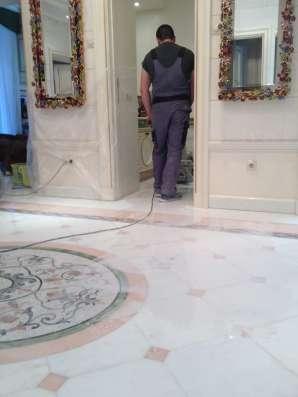 Кристаллизация и шлифовка мрамора и гранита