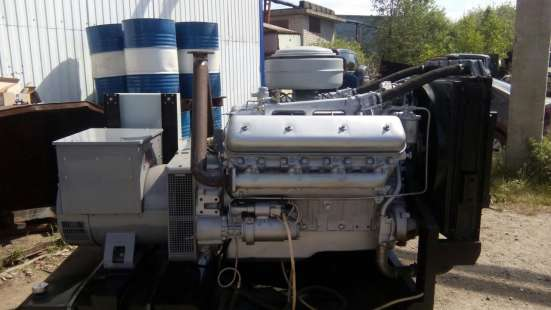 Дизельный генератор АД-100 100кВт ЯМЗ, ММЗ в Екатеринбурге Фото 5
