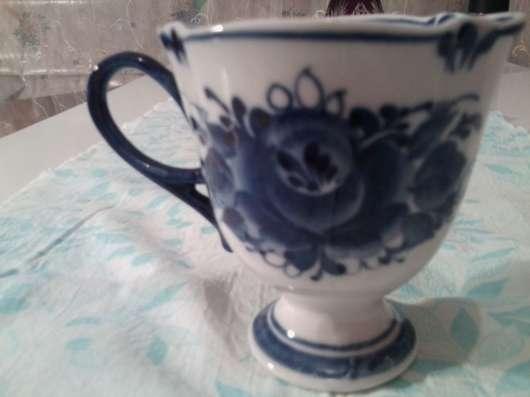 Чашка гжель авторская в Москве Фото 3
