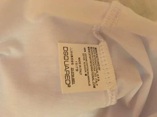T-Shirt майка Dsquared Сделано в Италии размер XL