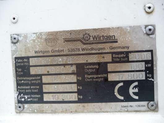 Продам дорожную фрезу WIRTGEN W1000F; 2006 г/в
