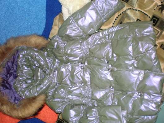 Пальто детское красивое