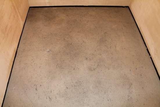 Стяжка пола, штукатурка стен машинным способом в Пензе Фото 1