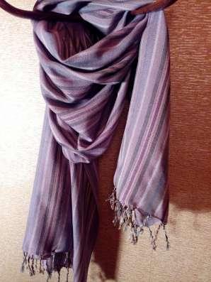 Шарф бледно-фиолетовый