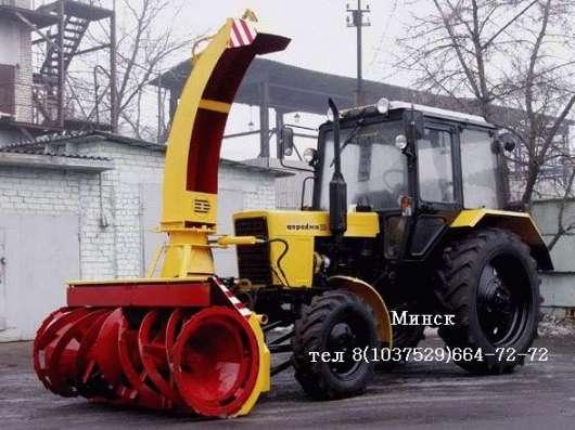 Коммунальная техника, техника для уборки улиц на базе тракто в Москве Фото 1