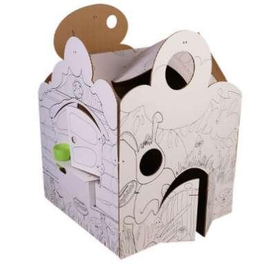 Домик из картона ДДФ-01 Фентези