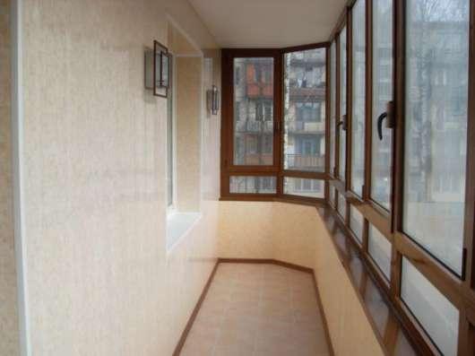 Отделка и утепление балконов и лоджий – варианты оформления в Сергиевом Посаде Фото 2