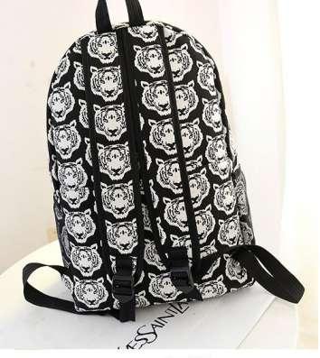 Рюкзак городской с Тигровым принтом в г. Запорожье Фото 1