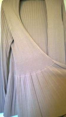 Кардиган ZARINA 48 размер, бежевого цвета,трикотаж