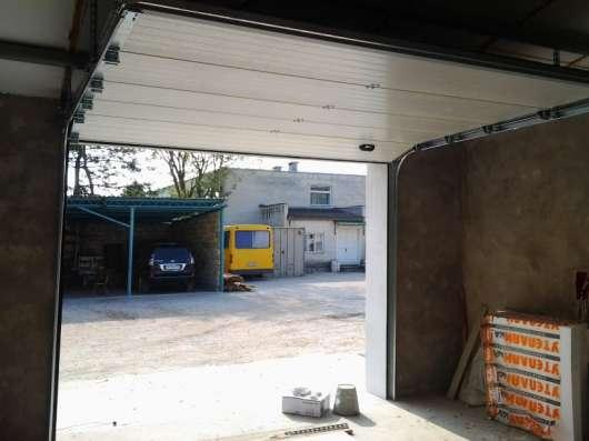 Ворота секционные, откатные, распашные в г. Севастополь Фото 2