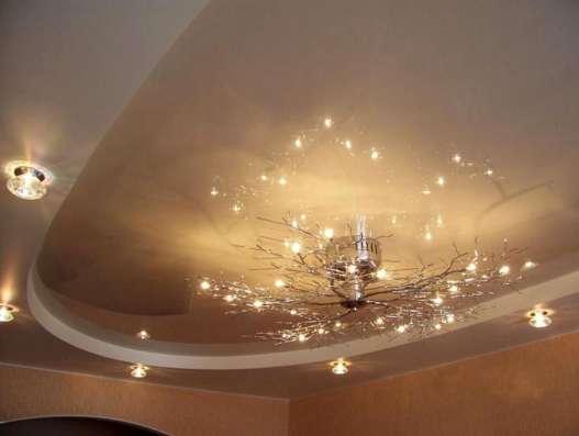 Натяжные потолки в Красноярске Фото 3