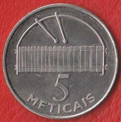 Мозамбик 5 метикалов 2006 г.