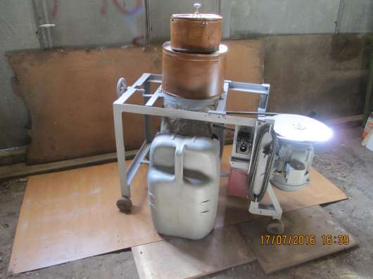 Сенодробилка с электроприводом