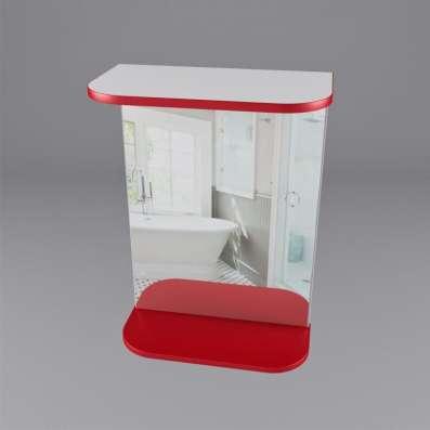 Шкаф-зеркало для ванной комнаты в г. Костанай Фото 1