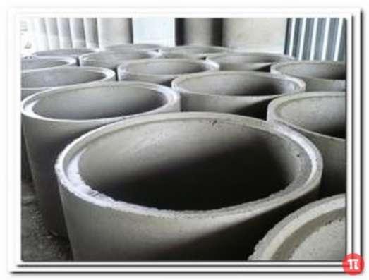 Купить кольца бетонные с пазом для септика, колодца, канализации в Калининграде