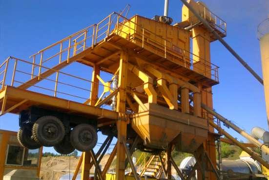Мобильный бетонный завод - производительностью 64 т/час