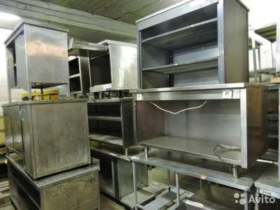 торговое оборудование Столы и раковины из нержа