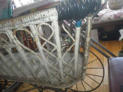 Старинная коляска в Москве Фото 5