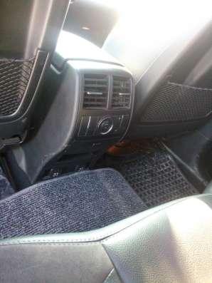 Джип чёрный мерс мл 350 2007г