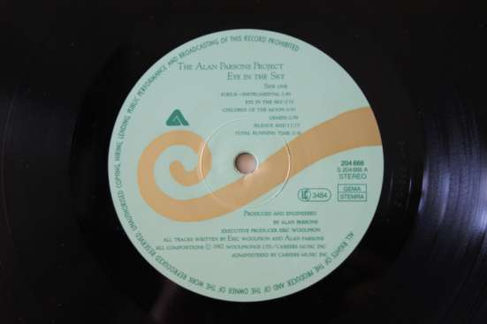 The Alan Parsons Project-1976.1978.1982. Made In W. Germany в Москве Фото 1