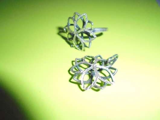 Комплект : кольцо + кулон, серебро 925 в Москве Фото 2