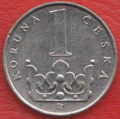 Чехия 1 крона 1996 г.