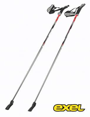 Палки для скандинавской ходьбы EXEL