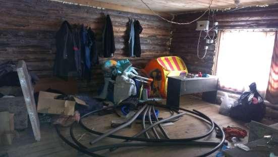 Брусовая дача 60 кв. м. требует ремонта