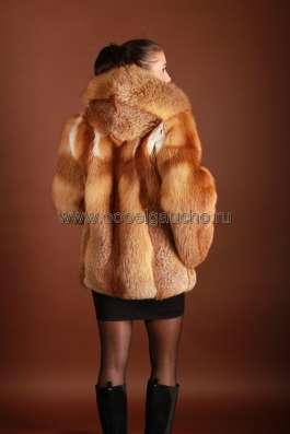Куртка из меха рыжей лисы арт.: 5733