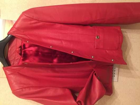 Куртка женская кожаная, производства Германия