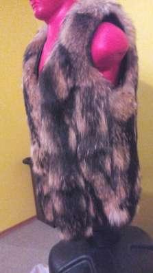 Жилет из волка мужской 50р. рост180-185 см