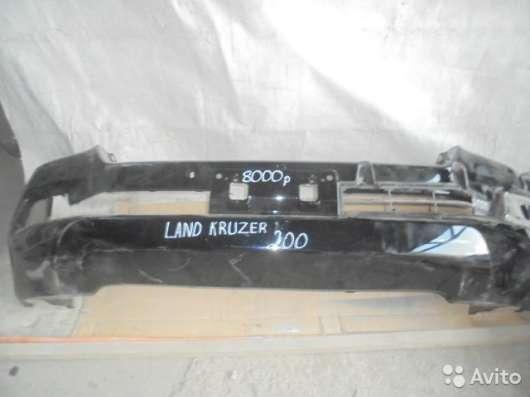 Бампер передний, Toyota Land CR200