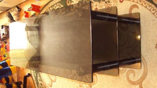 Стеклянная стол- тумба для телевизора
