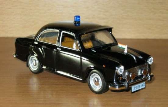 полицейские машины мира №13 HINDUSTAN AMBASSADOR